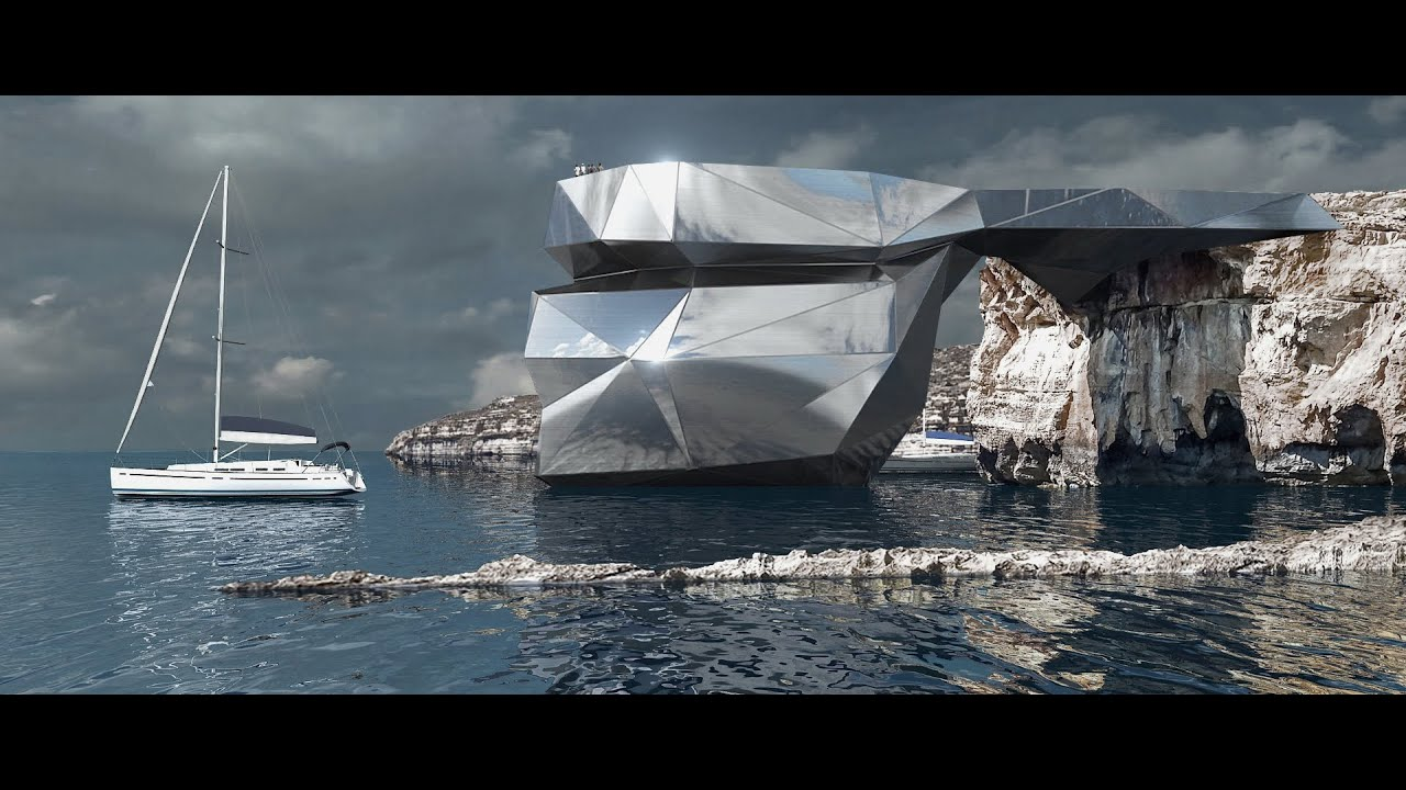 """Russian architects have proposed to restore the """"Azure Window"""" in Malta"""
